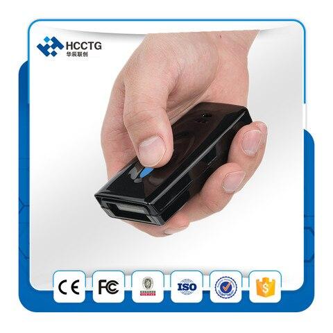 mini bluetooth wireless handheld scanner de codigo de barras com 32 1d m memoria hm5