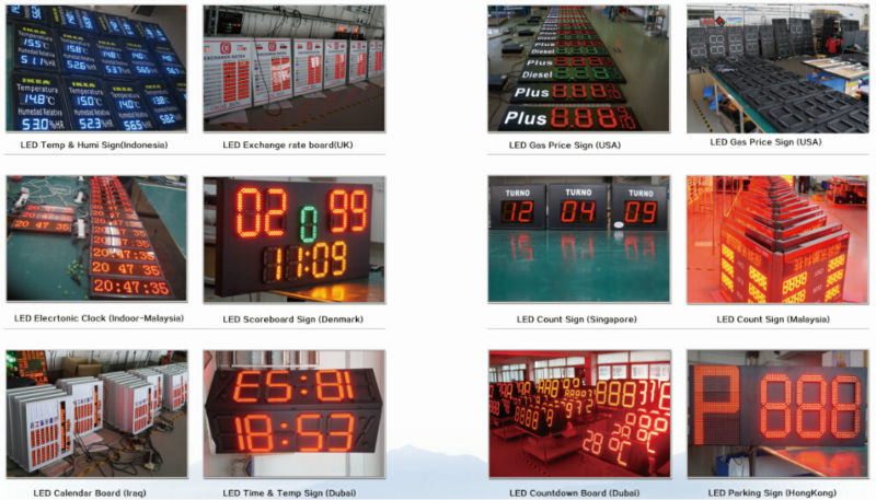 digit led module