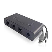 Converter Adapter for S-w-i-t-c-h for G-C w-i-i-u or P-C have HOME and TURBO function Controller Adapter three in one black