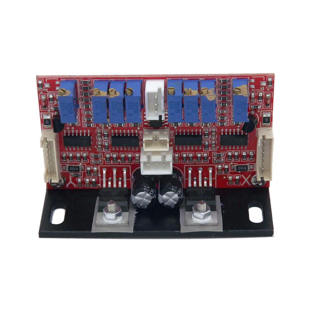 Laser Galvo Scanner X Y Driver Board Scanning Speed 15Kpss Max 20Kpps Galvanometer Scanner Servo Amplifier For Laser Light Show