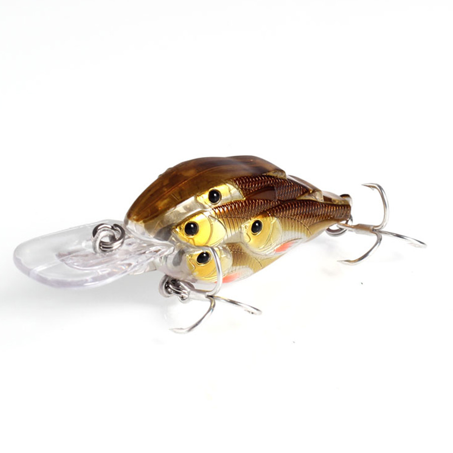 TUYA 5pcs / set Baitball Crankbait Wobblers Minnow Fishing Lure - თევზაობა - ფოტო 4