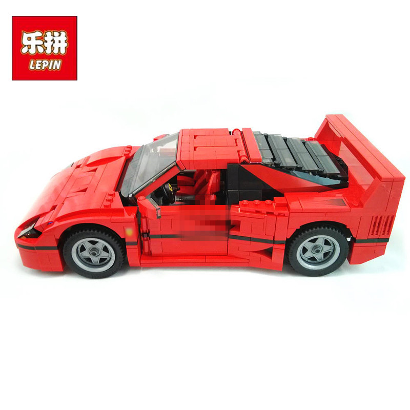 LEPIN 21004 Technic Series Create F40 Sports Car DIY Set Model Building Kits Blocks Bricks Children Toys Christmas Gift lepin technic series lepin 21004 ferrarie f40 sports car model building blocks kits bricks toys compatible with 10248