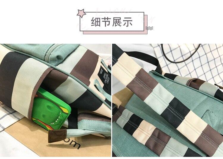 HTB1ajT8UmzqK1RjSZFjq6zlCFXaQ 2019 Korean Style Women Backpack Canvas Travel Bag Mini Shoulder Bag For Teenage Girl School Bag Bagpack Rucksack Knapsack
