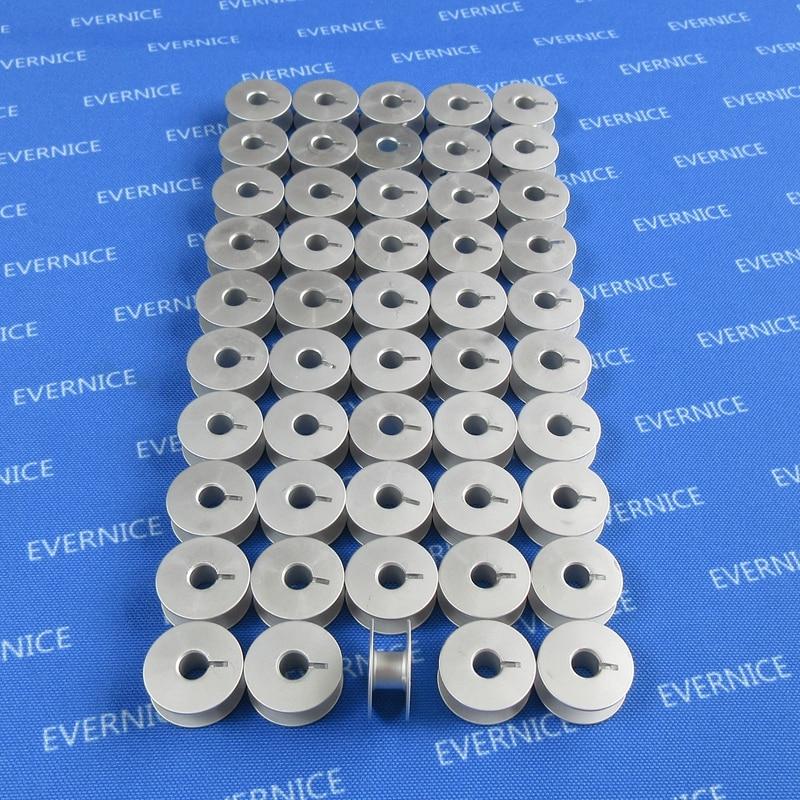 25 aluminum bobbins for single needle sewing machine Juki Consew Singer Brother