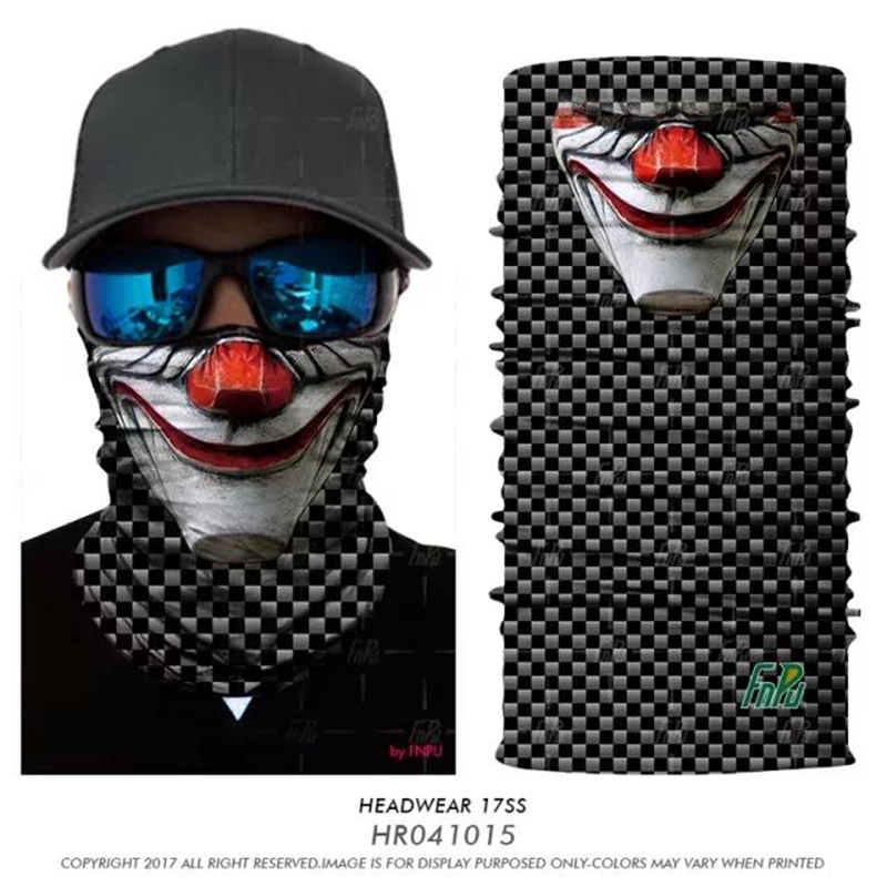 3D Seamless Bandanas Outdoor Sports Scarf Bike Bicycle Equipment Headwear Seamless Ride Neck Mask Bike Magic Cycling Headband