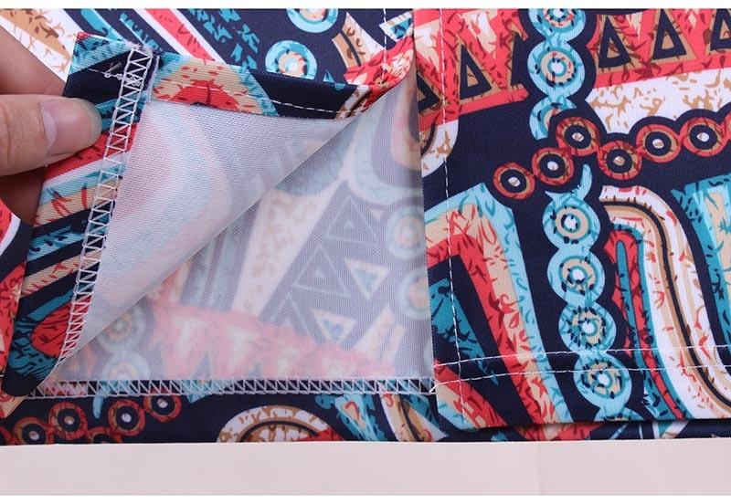 Горячие продажа Салют геометрические женщины печати случайные faldas юбки карандаш 2016 западный дизайн моды мода девушка тонкий топы низкая цена