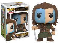 Funko pop Official Marvel Movies: Braveheart William Wallace Vinyl Action Figure Collectible Model Toy with Original Box