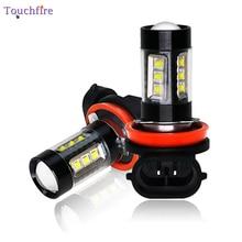 2 шт туман H11 лампа Led 9006 9005 H4 H16 Canbus лампы 1800LM авто заменить Свет 12 V 24 V для грузовик белый 6000 K дропшиппинг