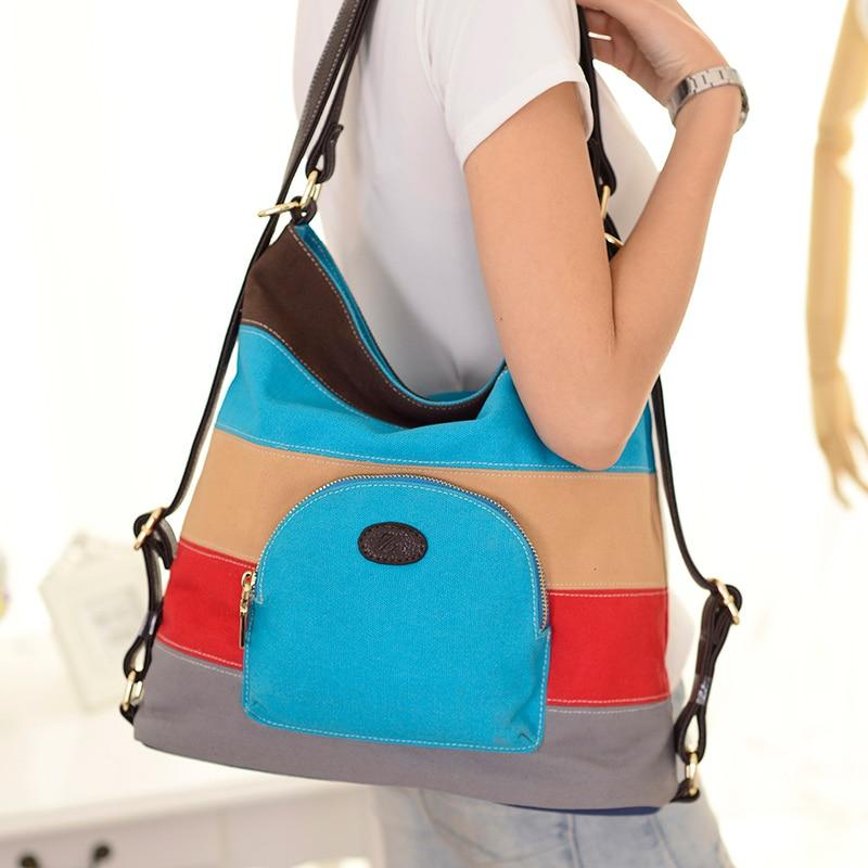 Bolsa Feminina Canvas Messenger Bags Handbags Shoulder Bag Tote Hobo Purse Bolsos Mujer