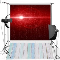 MEHOFOTO Red Shimmer Vinyl Photography Background For Wedding Wood New Fabric Flannel Background For Children Photo Studio 421