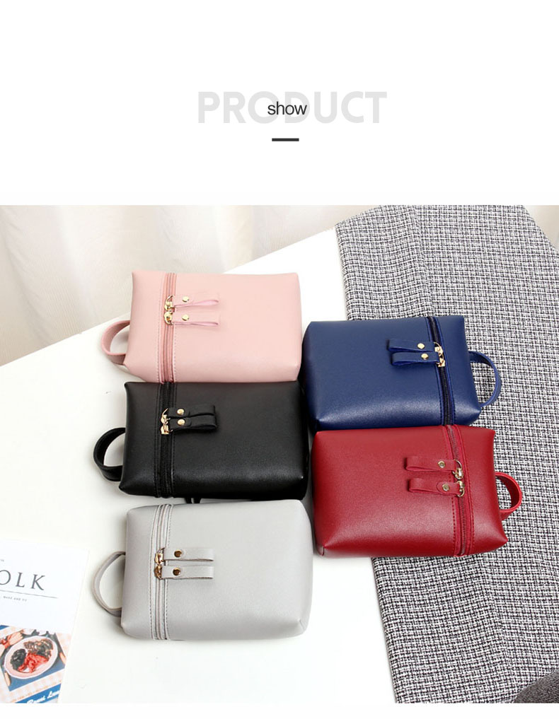 Cell Phone Messenger Bag Women Mini Leather Crossbody Mobile Bags Black Fashion Shoulder Bag Portable Strap Coin Purse XA67H