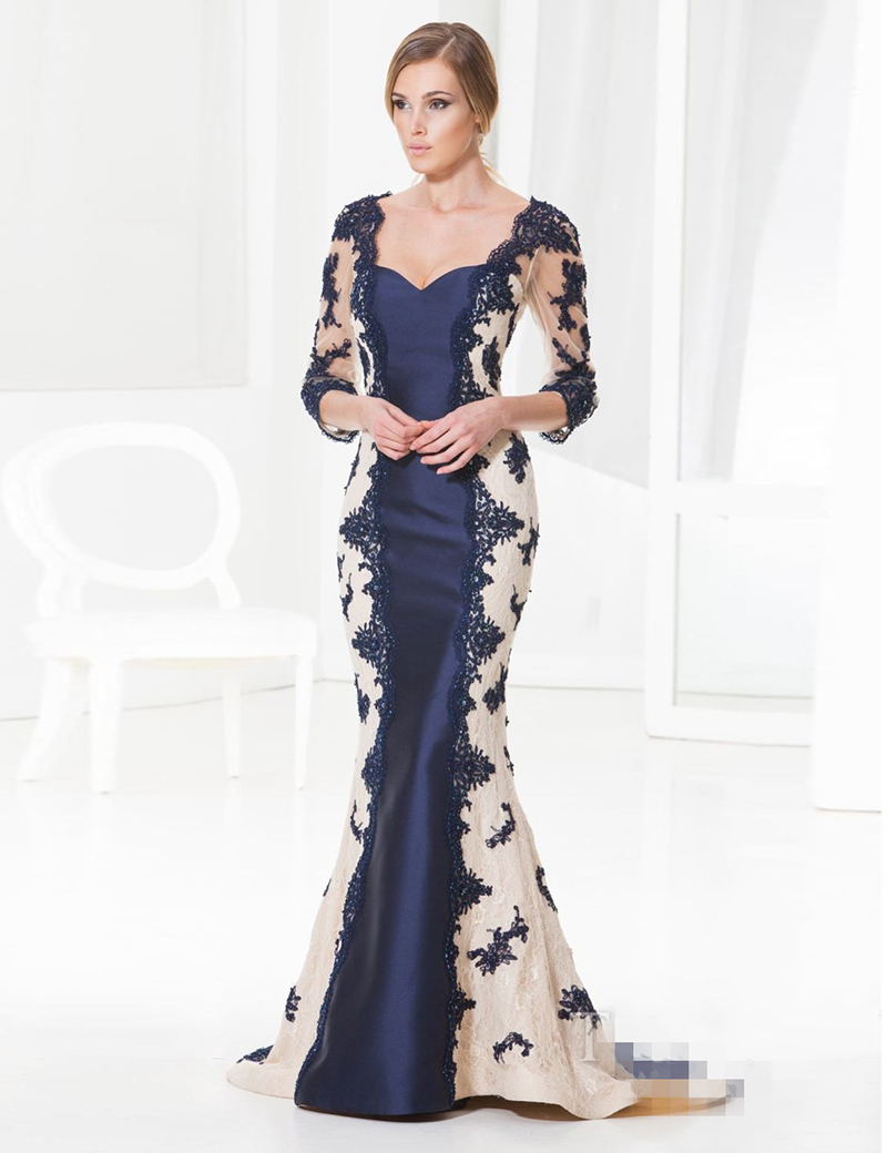 Online Get Cheap Evening Dresses with Sleeves -Aliexpress.com ...