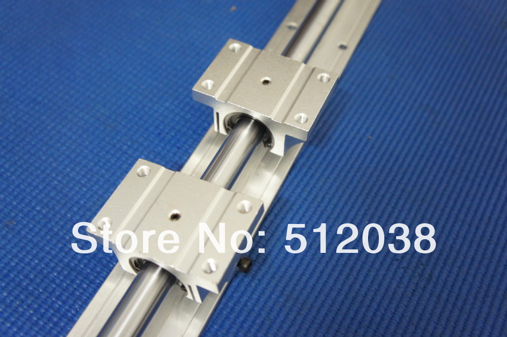 1pcs TBR16 -L1000mm Linear shaft guide support +2pcs TBR16UU Ball Bearing1pcs TBR16 -L1000mm Linear shaft guide support +2pcs TBR16UU Ball Bearing