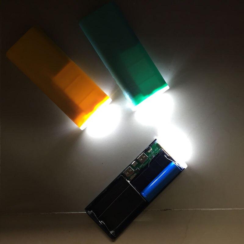 no battery Diy 5x <font><b>18650</b></font> LED USB Portable <font><b>Charger</b></font> Power Bank External Kit Battery <font><b>Charger</b></font> Box Dual USB Output For Mobile <font><b>Phone</b></font>