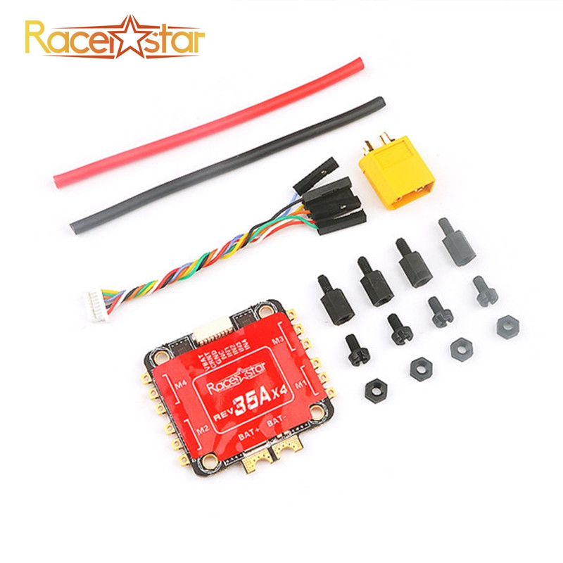 Special Edition Racerstar REV35 <font><b>35A</b></font> BLheli_S 3-6S 4 In 1 <font><b>ESC</b></font> Built-in Current Sensor for RC Racer Racing FPV Drone Spare Parts image