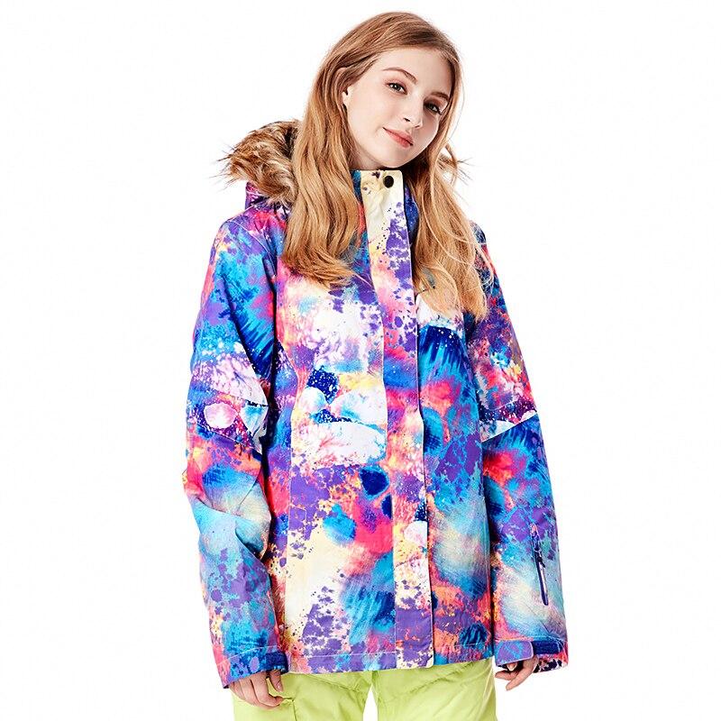 Offre spéciale et offre gsou wintersport ski snowboard veste femmes imperméable chaqueta nieve mujer neige vêtements ski jas dames