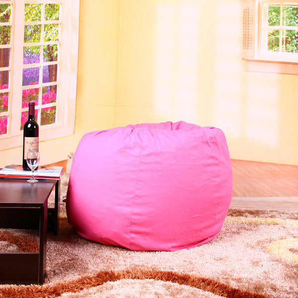 Large Tear Drop Pink Bean Bags Seat Cotton Beanbag Sofa Without Filling Bag Cover Free