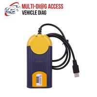 V2011 Multi Di@g Access J2534 Pass Thru OBD2 Device actia multidiag Multi Diag Multi Diag v2011
