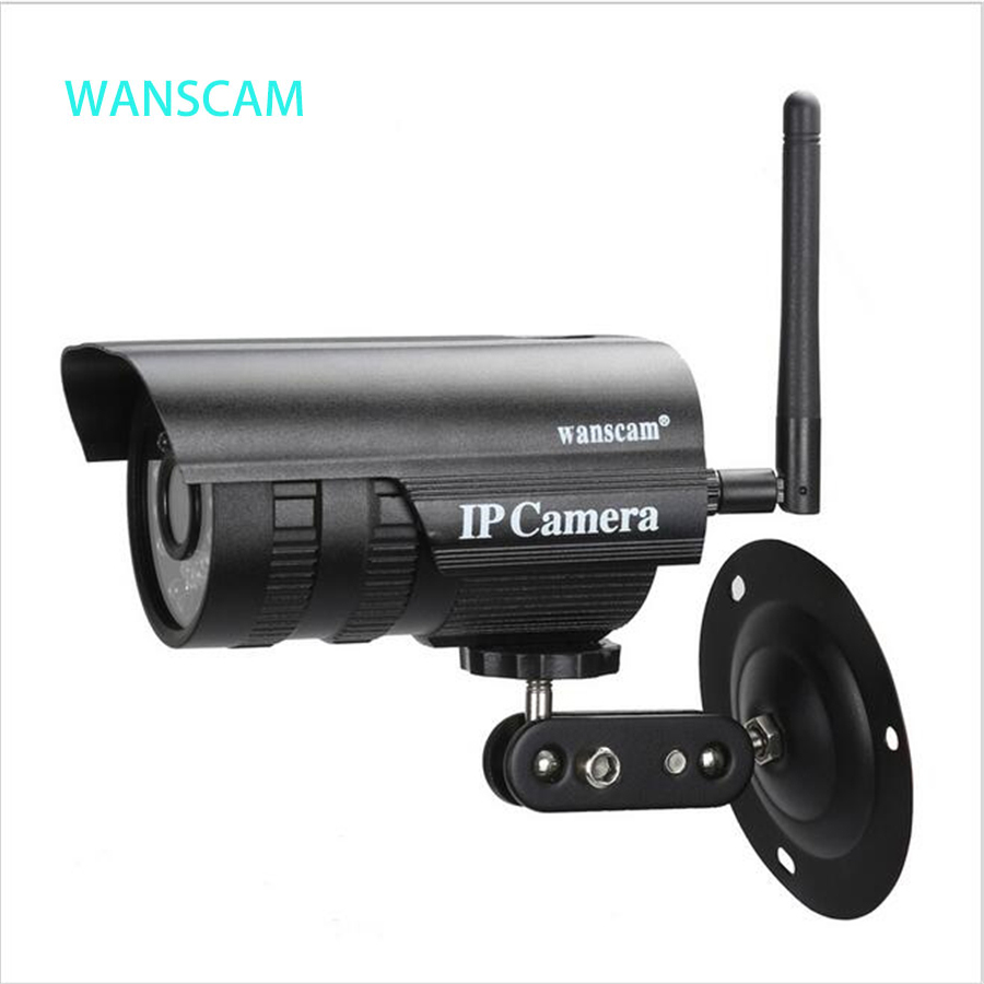WAMSCAM New Mini Waterproof IP Camera HD 720P Wireless Wifi Outdoor Night Vision 20m Security Remote Control Network Camera bc 883m mirror bulb lamp camera hd 960p wifi ap hd 960p ip network camera with real light remote control 2017 new arrival