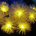 2017 New Arrival 9 Colores 10 M 80 LEDs bola de Neve Copos de luces LEVOU de Cuerda Decotation Para Festa Do Casamento Do Feriado 110 V 220 V