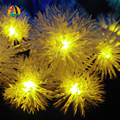 2017 New Arrival 9 Colores 10M 80LEDs Snowball Copos de luces LED de Cuerda Decotation For Wedding Party Holiday 110V 220V