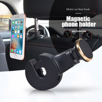 Car Styling Car Phone Holder Headrest Bracket 360 Degree Rotation Adjustable Universal Back Seat Stand For