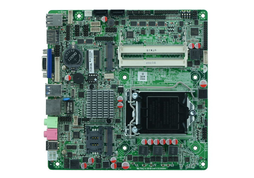 Industrial mainboard H81 Lga <font><b>1150</b></font> <font><b>socket</b></font> AIO Mini PC Motherboard Support IntelLGA1150 <font><b>Socket</b></font> <font><b>Core</b></font> i3/i5/<font><b>i7</b></font>/Pentium Processor image