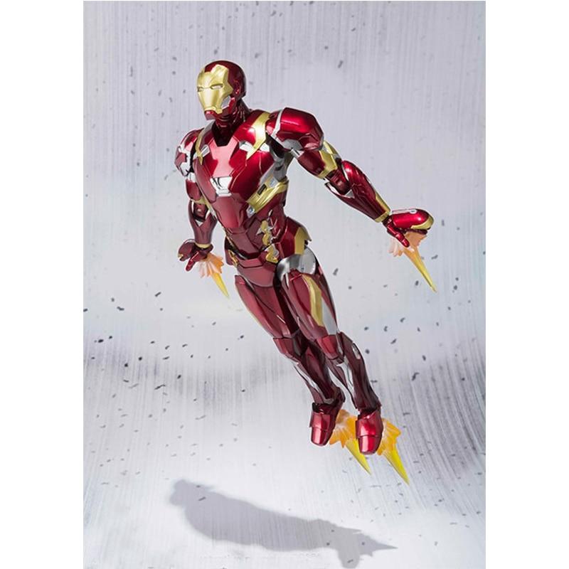 2019 NEW Movie Captain America Civil War Iron Man Mark 46 MK 46 Cartoon Toy Action Figure Model Doll Gift toys for Children2019 NEW Movie Captain America Civil War Iron Man Mark 46 MK 46 Cartoon Toy Action Figure Model Doll Gift toys for Children