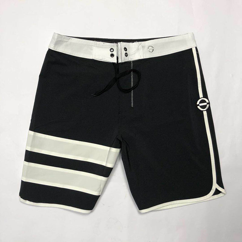 TOP Classical Striped Water Repellency 4-Stretch Summer   Shorts   Men   Board     Shorts   Men Beach   Shorts   Men Bermuda   Short   Boardshorts