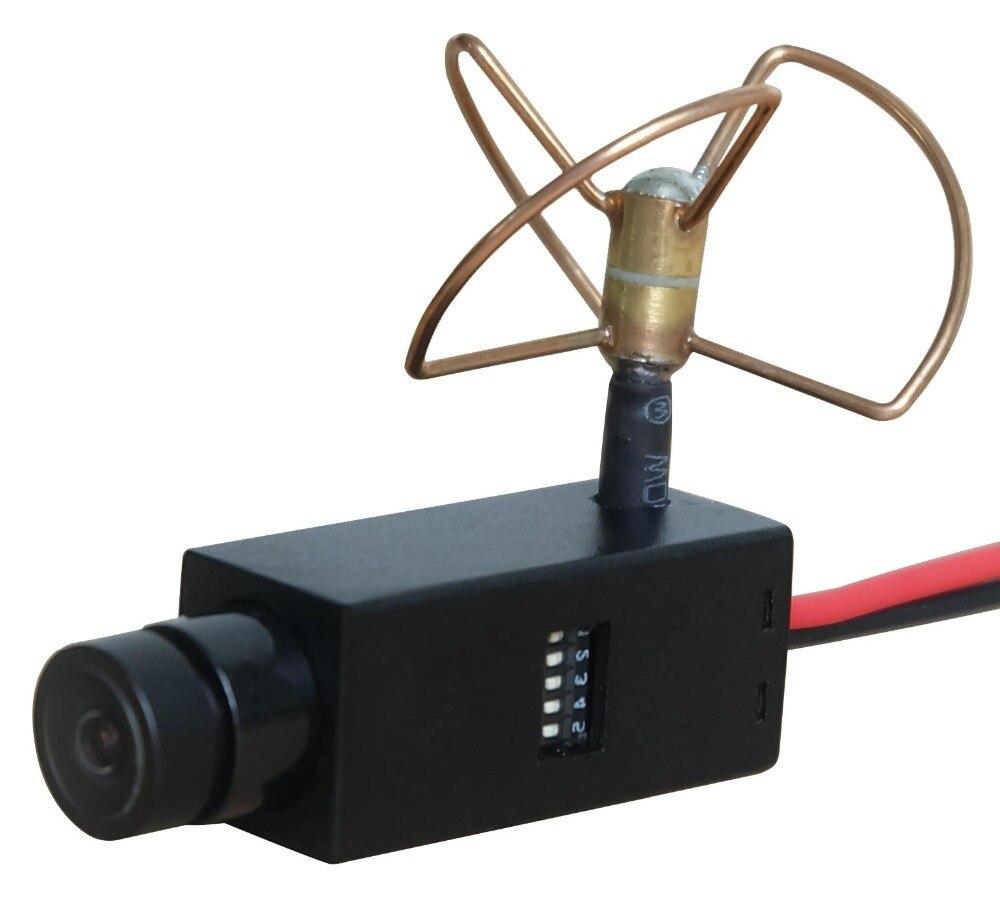 32ЦХс 5.8Гхз Мини бежична ФПВ камера са Цловер антеном 120 степени, ширококутна најмања камера
