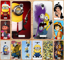 Case Cover For Fundas Lenovo A1000 A 1000 Cases Cartoon TV  Me Minions One Piece Painting Hard Phone Case Skin Shell Para Capa