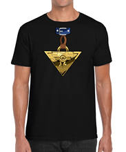 Yu-Gi-Oh Millennium Puzzle Yugi Cosplay Shirt Anime Retro Inspired T-Shirt S-2XL Gift Print T-shirt,Hip Hop Tee Shirt,(China)