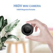 H6DV Mini Câmera 1080 P 720 P Micro DV DVR Câmera Night Vision Sensor de Movimento Gravador De vídeo Filmadora Pequena Esporte Cam PK SQ11 SQ12