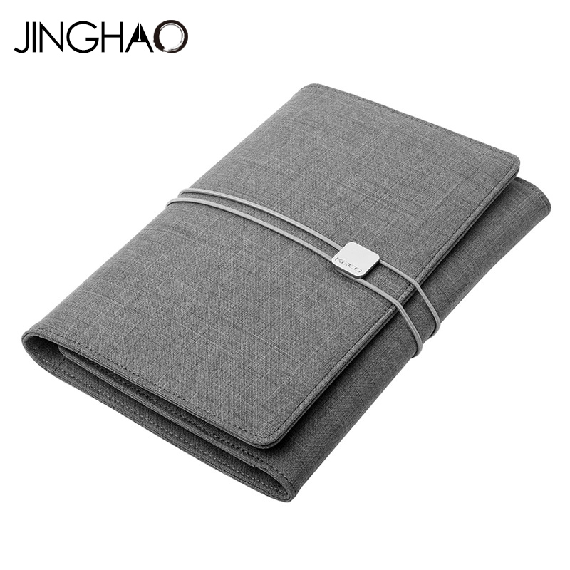 KACO ALIO High quality waterproof fabric Business Set Conference Gifts A5 Notebook Multifunctional Office Supplies relay kaco ros 2504