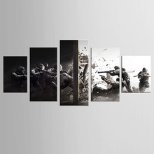 5 Piece Canvas Art Printing Movie poster Painting Custom Canvas Print On Canvas Printing Wall Pictures Home Decoration Framed