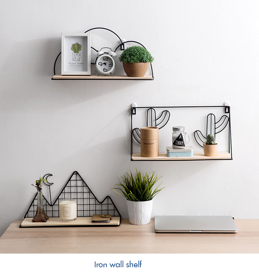 Floating Shelves Wall Mounted Wrought