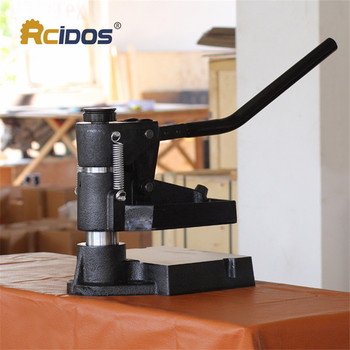 8360 RCIDOS Hand pressure sampling machine,Laser knife mold leather stamping machine,manual leather mold /Die cutting machine