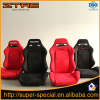 High quality Red Cloth 2 Pcs Racing Car Seat LOW-MOUNT BRACKET Auto Seat
