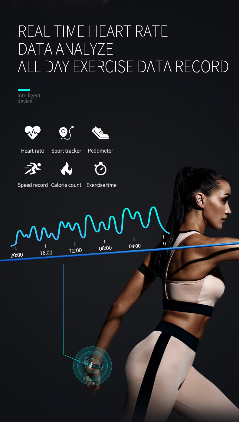 Professional Sport Smart Bracelet 5