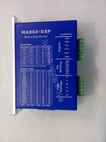 New Product 2-phase stepper driver MA860-DSP design working 24V-80VDC or VAC16-70VAC output 6A current work with NEMA 34 motor