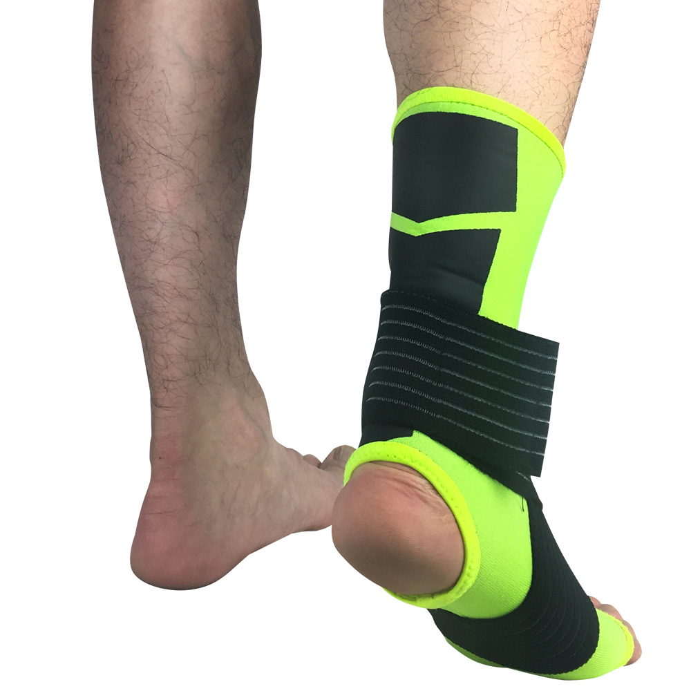 Sports Ankle Sleeve Elastic Bandage Pressure Ankle Protective Gear Outdoor SPSLF0039