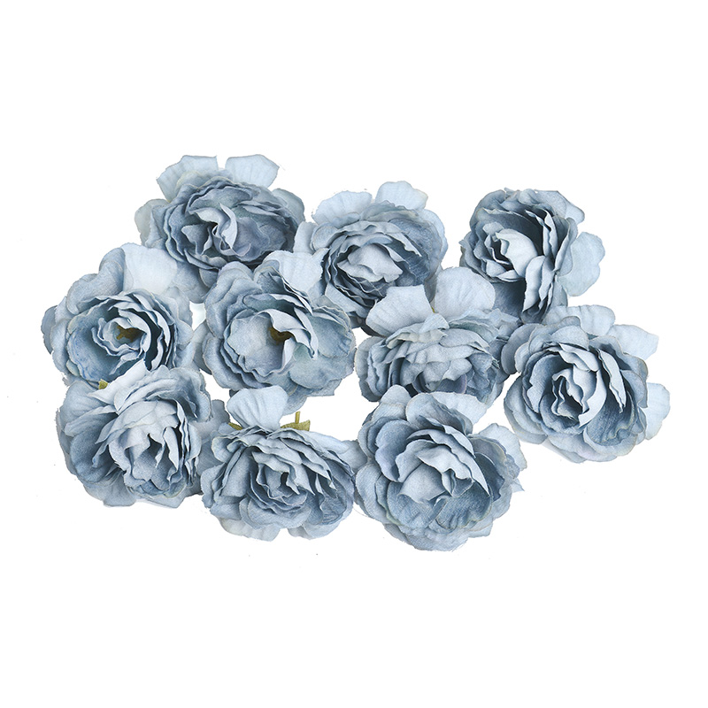 10pcs/lot Silk Roses Artificial Flowers For Wedding And Home Decorations 11