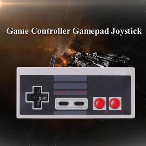 Image 2 - Spiel Controller Wired Joypad Gaming Controller Mini Klassische Stecker und Spielen Gamepad Joystick für Nintendo NES Klassische Spiel
