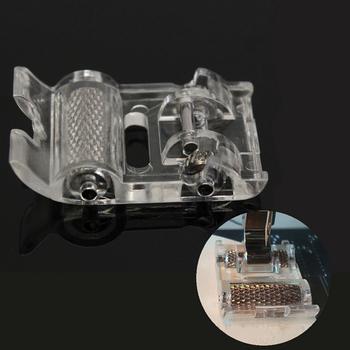 1pc Low Shank Roller stopka dociskowa stopka skórzana stopka do Brother akcesoria do maszyn do szycia domowego części do maszyn do szycia tanie i dobre opinie CN (pochodzenie) Zestawy narzędzi STAINLESS STEEL piece 0 01kg (0 02lb ) 1cm x 1cm x 1cm (0 39in x 0 39in x 0 39in)