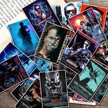 25pcs Terminator T-800 Arnold Schwarzenegger Movie Sticker for Luggage Skateboard Motorcycle Bicycle Fridge Laptop Sticker