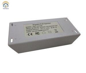 Image 3 - PoE Conversor Conversor de POE 802.3at compatível para 24 v Passiva, gigabit PoE Splitter para UBNT/Mikrotik com Saída 24V25w