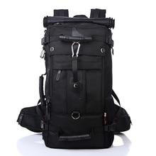 Brand Men Backpack Travel Bag Large Capacity Versatile Utility Mountaineering Multifunctional Waterproof Backpack Luggage Bag