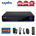 SANNCE Home Surveillance System 16CH Full 960H Recording Security DVR HDMI 1080N Hybrid CCTV NVR HVR Video Recorder 16 Channel