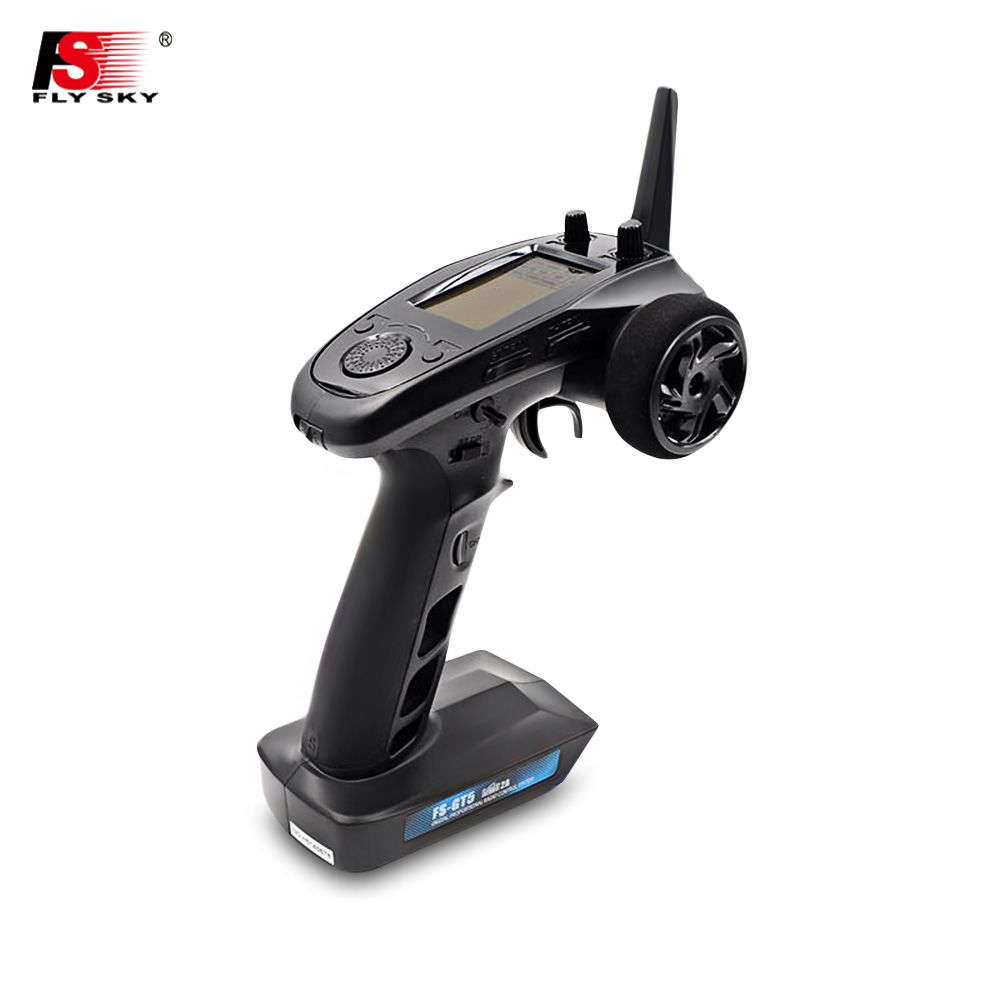 Flysky FS - GT5 6CH AFHDS RC Transmitter With FS - BS6 Receiver For RC Model Remote Control RC Parts Toys Kids Gifts белый короткий рукав v шея sweep поезд русалка fishtail свадебное платье
