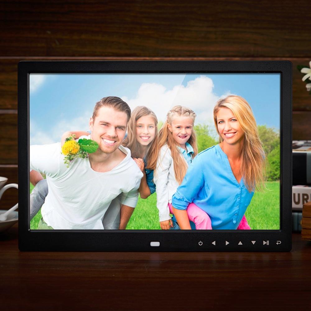 Multi-funcional 13 pulgadas 1280*800 HD LED Marcos digitales fotos ...